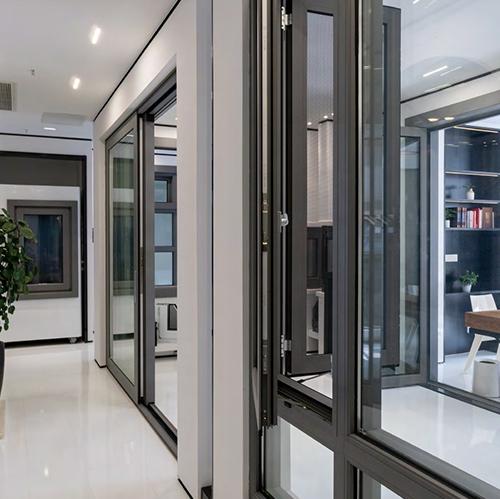 铝质防火窗